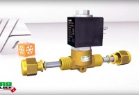 Creation of a 3D animation of an OLAB solenoid valve