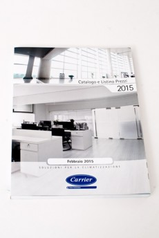 CARRIER, Catalogo generale 2015