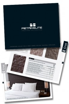 New graphic design for Pietraelite's advertising  2014