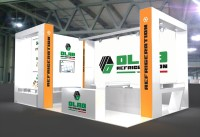 Stand graphic project for Chillventa Norimberga
